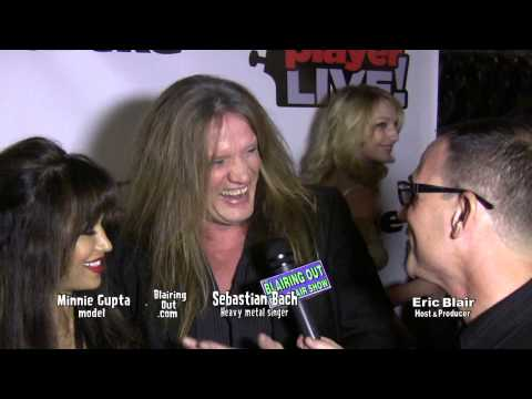 Sabastian Bach talks w Eric Blair about the feud w Nikki Sixx @ Bass Player Live 2013