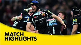 Exeter Chiefs v Bath Rugby - Aviva Premiership Rugby 2014/15