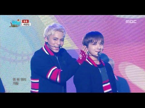 [HOT] Seventeen - VERY NICE + BOOMBOOM, 세븐틴 - 아주NICE + 붐붐 Show Music core 20161224