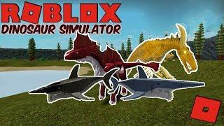Roblox Dinosaur Simulator - KAIJU TITAN! Playing As Unreleased Skins/Dinos! (K. Titan, Helicoprion)