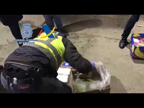 """La Policía considera """"desactivada"""" una """"vía de entrada de cocaína"""""""