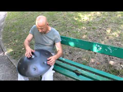 20130806 - Angelo Gallocchio suona lo Hang - regia Francesca Di Silvestre