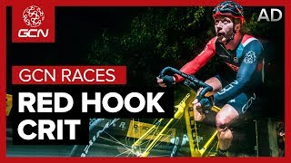 GCN Vs The Red Hook Crit | Fixed Gear Criterium Racing