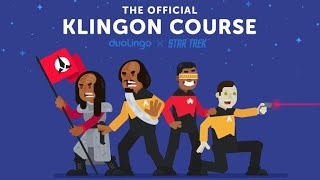 Learn how to spęak Klingon