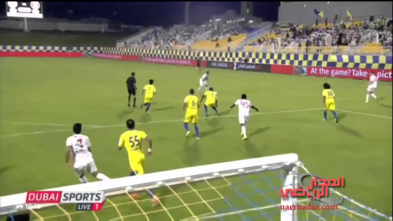 الاهداف - الظفرة vs الجزيرة - كأس المحترفين الإماراتي