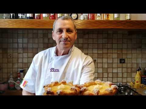 tarte-feuilletée-a-l'ananas-et-crème-pâtissière