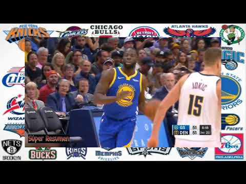 Resumen del partido completo Golden State Warriors vs Denver Nuggets