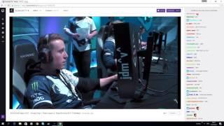 [Twitch chat reaction] JDM 1v5 vs envyus