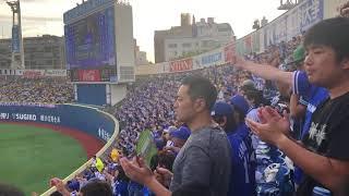 【98年応援歌復刻!】横浜DeNAベイスターズ 1回裏20180626