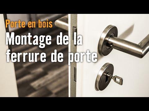 montage de porte porte en bois chapitre 3 montage de la ferrure de porte