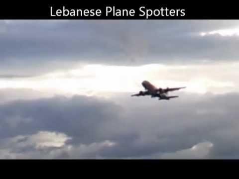 Tunis Air Airbus A320 taking-off runway 21 at Beirut International Airport