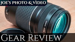 Canon EF 75-300mm f/4-5.6 III Lens Review (On EOS 80D)