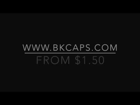 BK Caps Blank Acrylic Black Snapback From $1.50 Wholesale hats