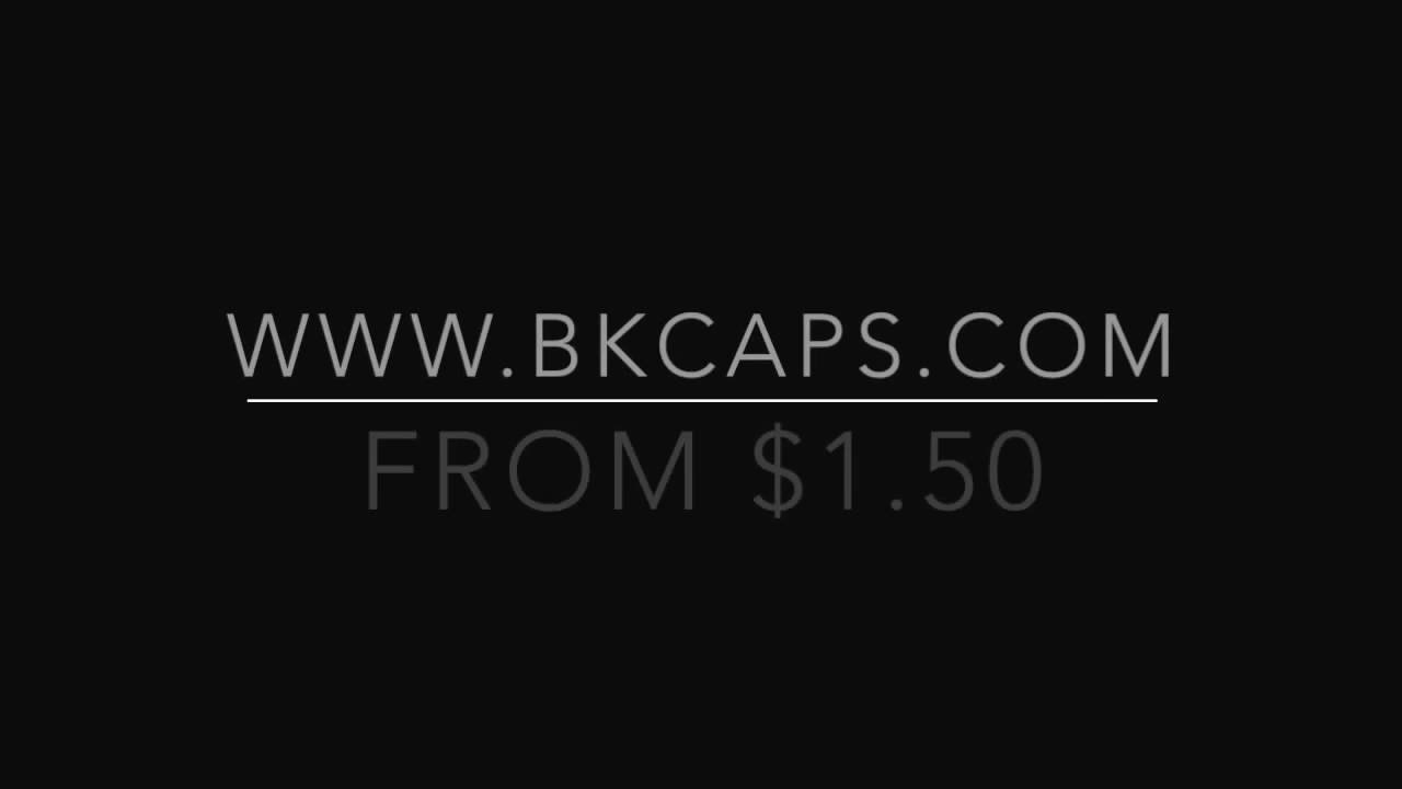 BK Caps Blank Acrylic Black Snapback From  1.50 Wholesale hats - YouTube 3e2615516a0