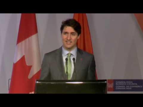 """Justin """"100th Anniversary Of Canada"""" Trudeau"""