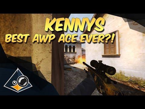 CS:GO - kennyS - Best AWP Ace ever?!