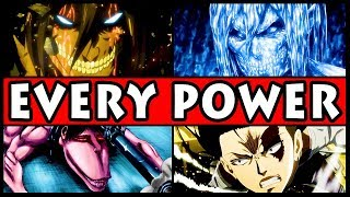 Every Type of Power in Attack on Titan Explained! (Shingeki no Kyojin All Abilities and Powers)