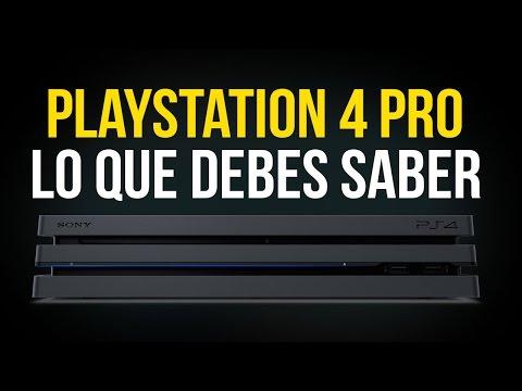 PlayStation 4 PRO - TODO sobre la nueva consola de SONY