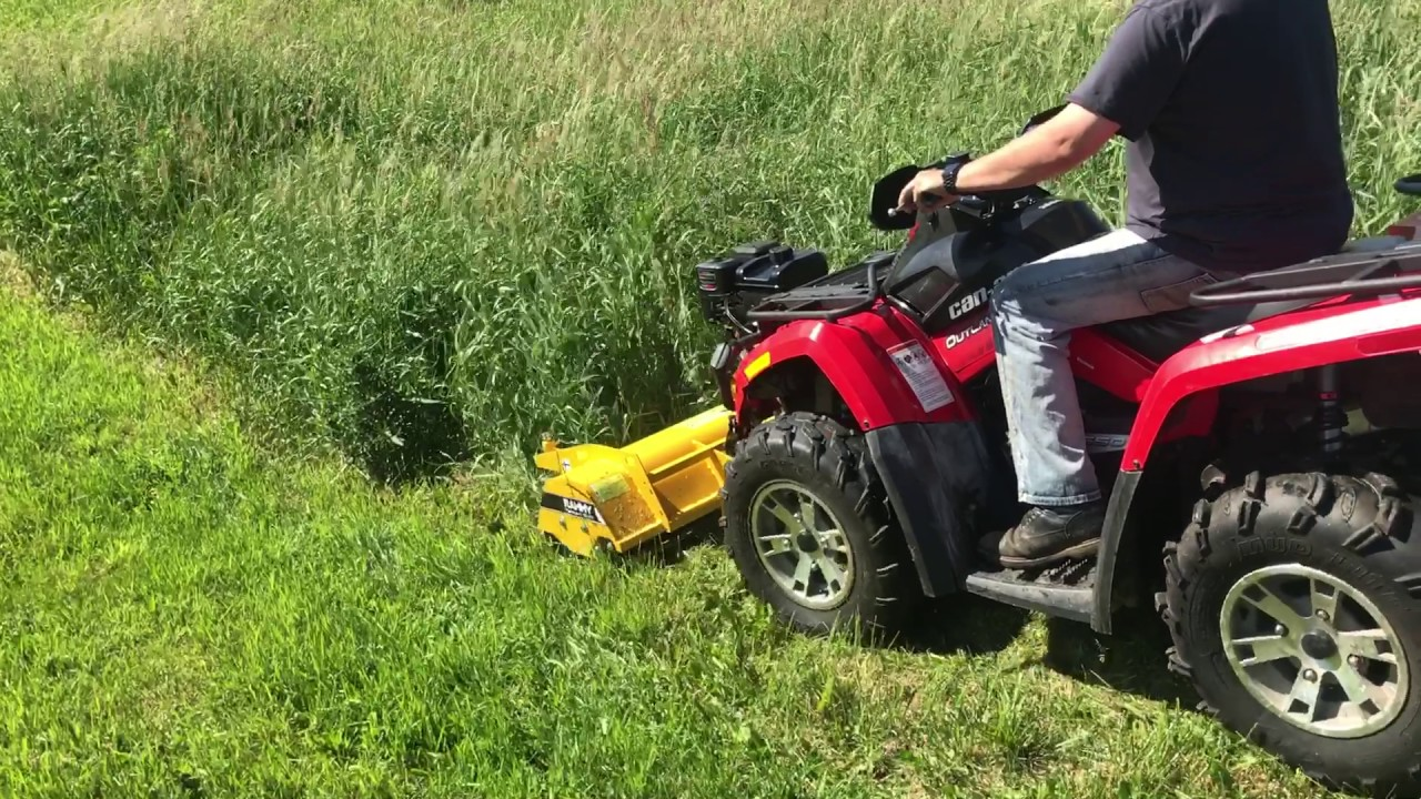 Rammy Flail Mower 120 in the USA - first pass