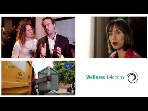 Wellness Telecom NORDIC EDGE 2017 MICROSOFT BOOTH