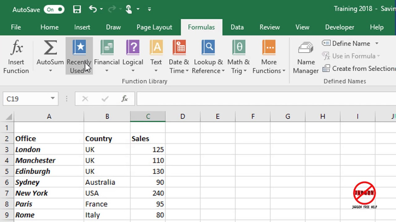 what do you use excel for at work