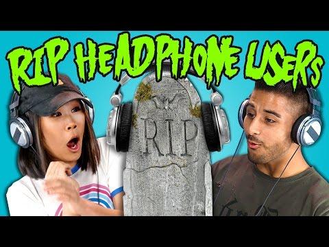 Teens React to RIP Headphone Users Compilation