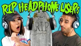 Teens React to RIP Headphone Users Compilation thumbnail