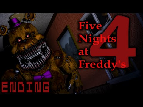 FIVE NIGHTS AT FREDDY'S 4 - ENDING - THIS WILL BLOW YOUR MIND! | LUIGIKID