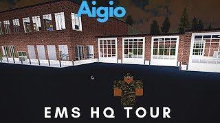 ROBLOX   Aigio EMS HQ Tour
