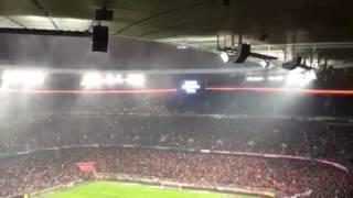 Schweigeminute Allianz Arena (Berlin Terroranschlag)
