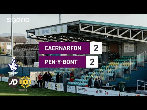 Caernarfon Penybont Goals And Highlights
