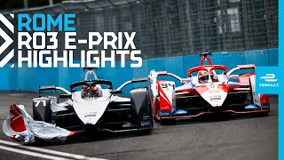 Race Highlights | 2021 Rome E-Prix | Round 3
