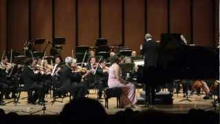 Concierto Para Piano y Orquesta en Re Mayor J. Haydn - I. Vivace - Maria Dolores Aguilar Vaca