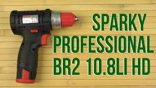 Розпакування Sparky Professional BR2 10.8 Li-C HD