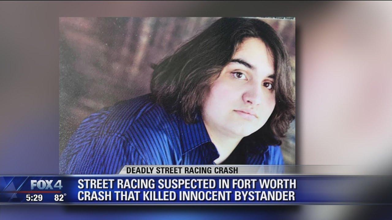 Innocent man killed in Fort Worth street racing crash