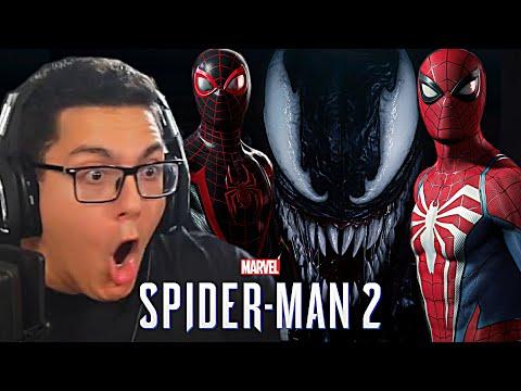 MARVEL'S SPIDER-MAN 2 - REVEAL TRAILER REACTION!