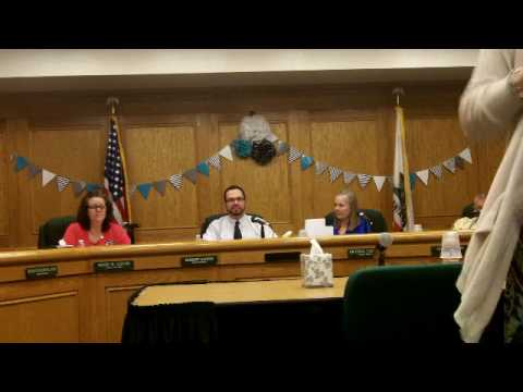 EXCLUSIVE Etiwanda School Board Seat Vacancy- 2-13-17 MEETING