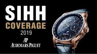 SIHH 2019: Audemars Piguet Code 11.59 Line and Royal Oaks!