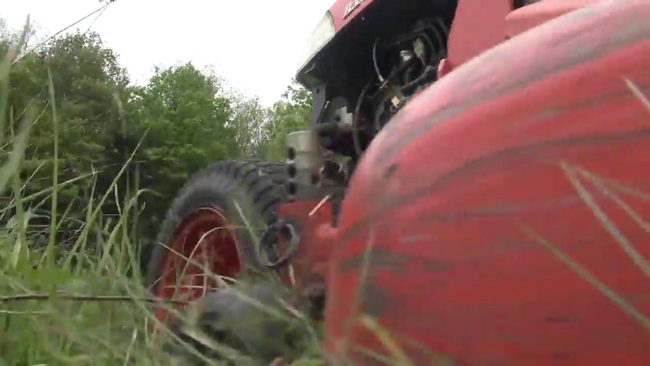 Kubota BX2660 Mowing in the Field