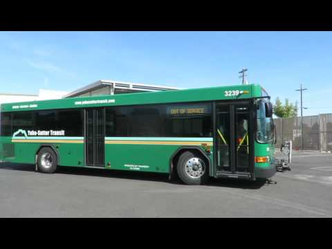 Motor Bus Society 2016 Fall Convention Sacramento, CA day 1 @  Yuba Sutter Transit Garage