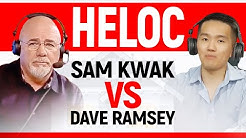 Sam Kwak vs Dave Ramsey : HELOC Rant