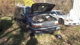 1993 Plymouth Grand Voyager Update