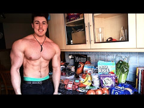 Food Shopping for a LEAN CUT PHYSIQUE w/ Brandon Harding