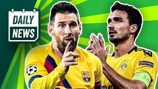 Champions League: Rekord-Messi & BVB erschreckend!