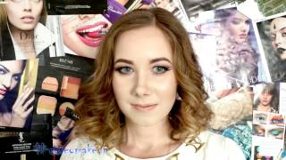 Ксения Саватеева. Видео-урок свадебного макияжа со стразами (Bridal makeup tutorial)