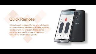 Lg g3 quick remote