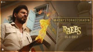 4 Days To Go   Raees Ka Din   Shah Rukh Khan, Nawazuddin Siddiqui   Releasing Jan 25