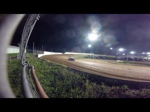 Ryan Peer 4 Cylinders Heat Race Bedford Speedway Turn 2 GoPro Camera 9/1/19
