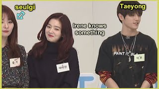 taeyong having a big crush on seulgi