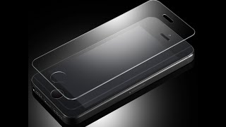 ПРИКЛЕЙКА ЗАЩИТНОГО СТЕКЛА IPHONE 5S(, 2015-10-29T22:37:10.000Z)